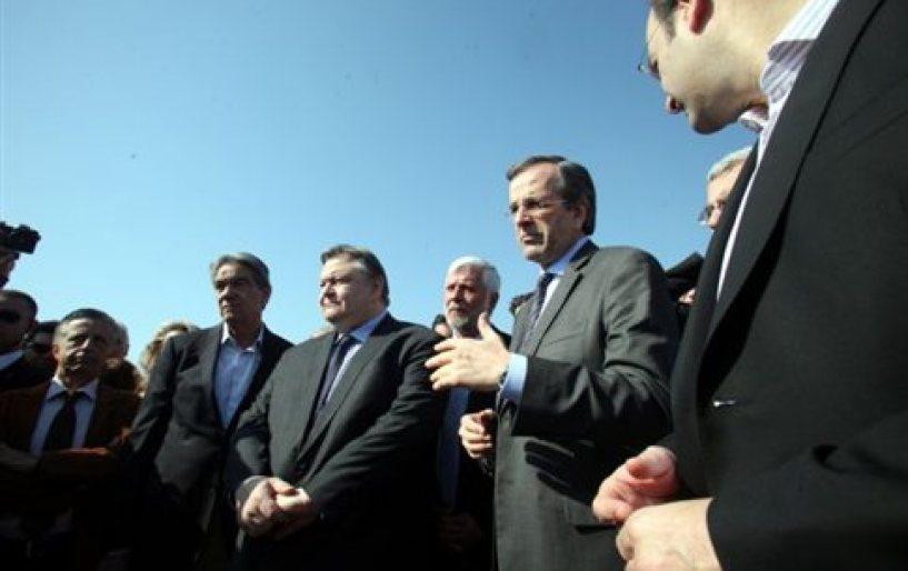 Η Ελλάδα της ανάπτυξης θα νικήσει, δήλωσε ο Αντ.Σαμαράς