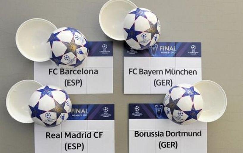 Χωρίς «εμφύλιο» στα ημιτελικά του Champions League