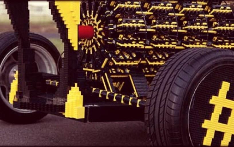 Είναι LEGO και γκαζώνει…