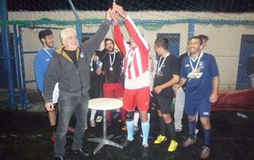 """Η ομάδα «Παρέα"""" πήρε τον τίτλο της Β΄ κατηγορίας"""