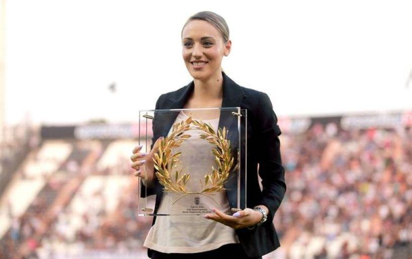 Η Κορακάκη ευχήθηκε ο ΠΑΟΚ να κατακτήσει το πρωτάθλημα
