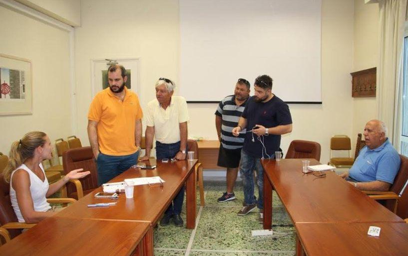 Συνεργασία των τριών για κοινή παρουσία στα Περιβόλια