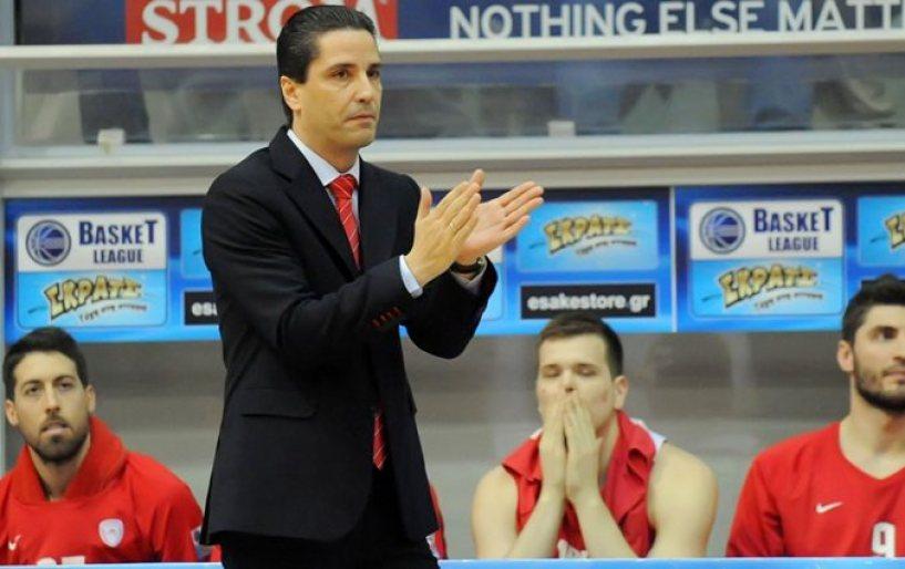 Ο Σφαιρόπουλος τόνισε τα στοιχεία που θα πρέπει να έχει ο Ολυμπιακός