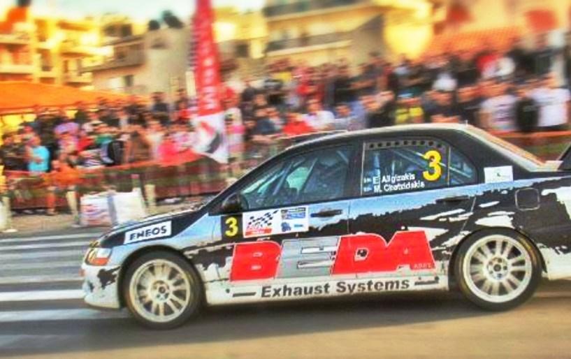Αλυγιζάκης-Χατζηδάκης οι νικητές στο 38ο Eneos Rally Κρήτης!!!