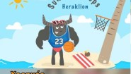 To 1o «Tουρνουά Beach Basketball» στο Ηράκλειο είναι γεγονός