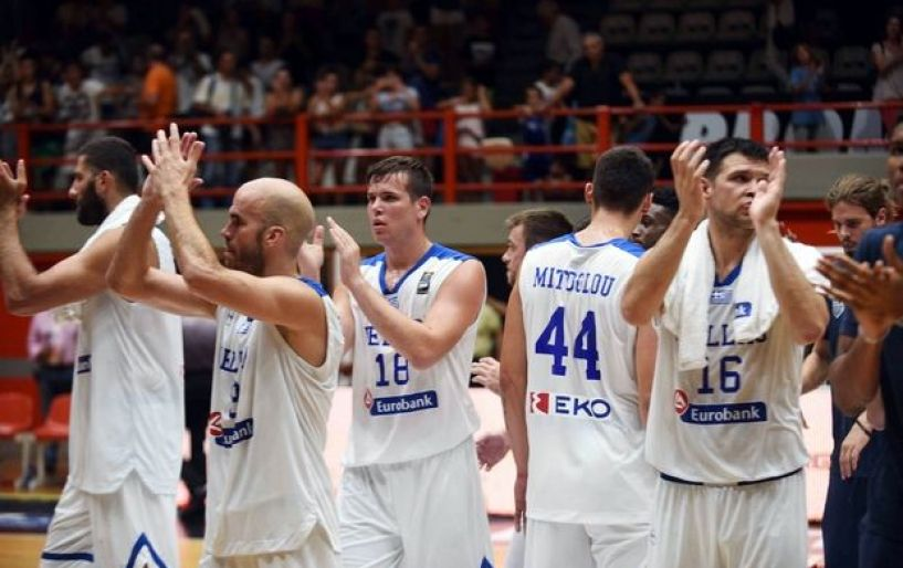 To πρώτο δυνατό τεστ ενόψει του Ευρωμπάσκετ