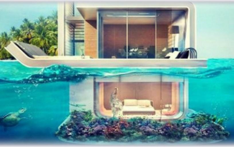 Η πλωτή βίλα με… την υποβρύχια κρεβατοκάμαρα!!!