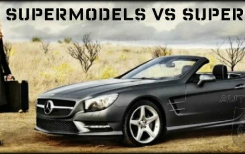 Supermodels vs Supercars