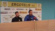 Ανδρουλάκης: «Στόχος μας είναι να παίζουμε ποδόσφαιρο»