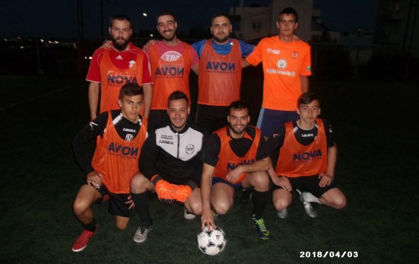 Στους ''4'' οι Στέργιοι και η HALIDA FC
