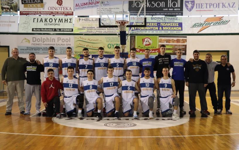 """Στην Χερσόνησο """"χτυπάει"""" η καρδιά του Ελληνικού μπάσκετ"""