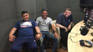 Το νέο σωματείο φίλων Ηροδότου στο στούντιο του Αthletic Radio 104.2