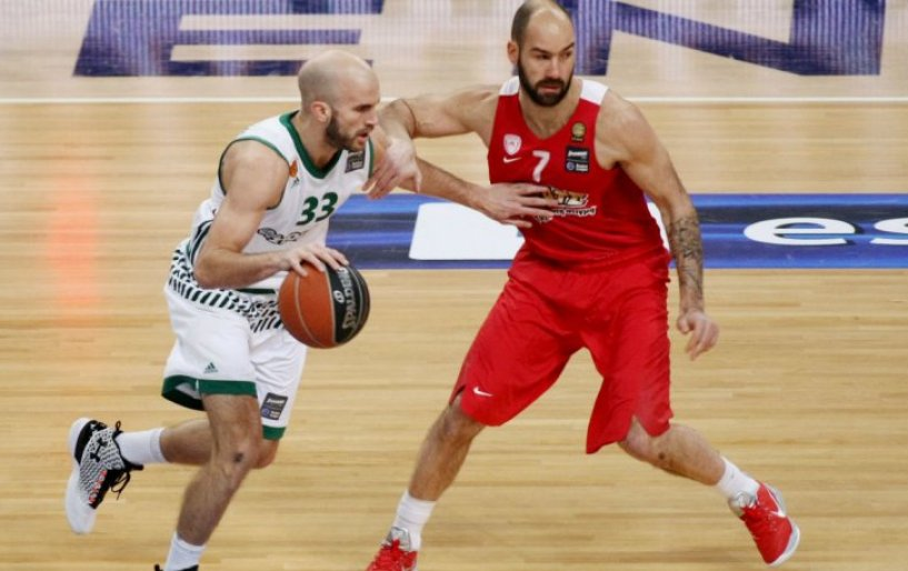 Ήττα για Παναθηναϊκό στο πρώτο παιχνίδι με τον Ολυμπιακό για τους τελικούς του Basket League