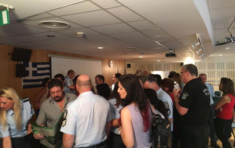 Με δράση στο Αστυνομικό Μέγαρο συνεχίστηκε η εκστρατεία του ΕΣΔΑΚ