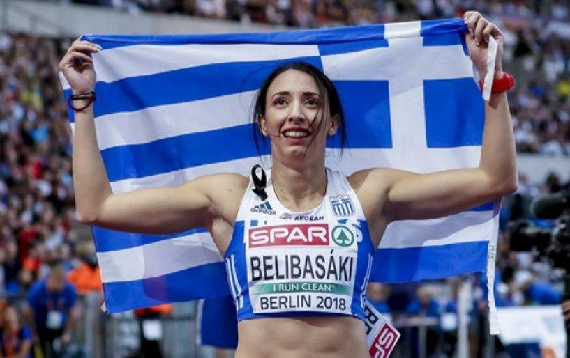 Ασημένιο και Πανελλήνιο ρεκόρ η Μπελιμπασάκη!