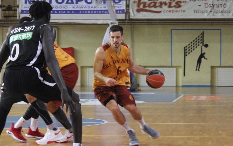 Ήττα από την Χάποελ Ιερουσαλήμ στο πρώτο εντός έδρας παιχνίδι του Ρέθυμνου Cretan Kings