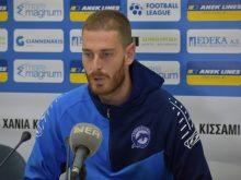 Σελινιωτάκης:«Οι ποδοσφαιριστές θα αναλάβουμε τις ευθύνες μας»