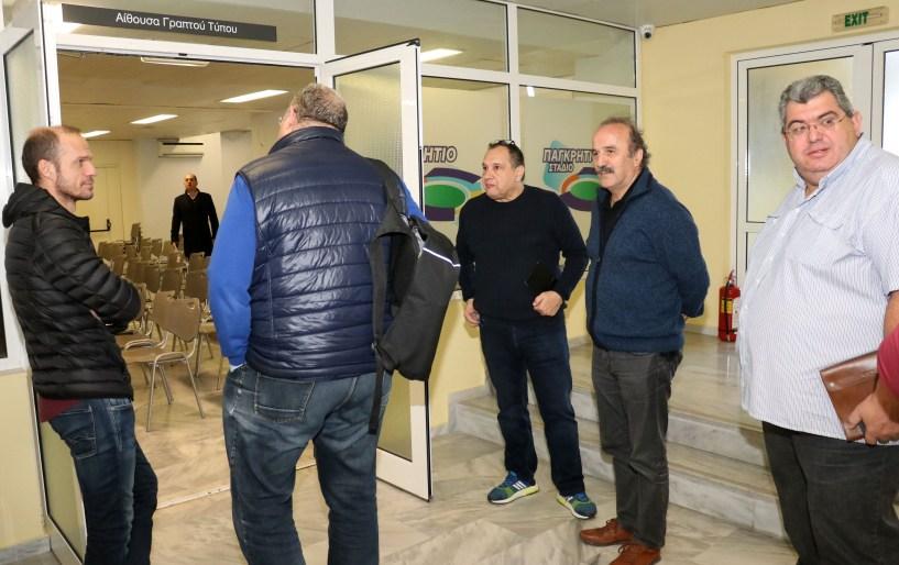 """Τζώρτζογλου στο athleticradio.gr: """"Είμαστε σίγουροι ότι το Παγκρήτιο θα φιλοξενήσει την Εθνική ομάδα"""""""