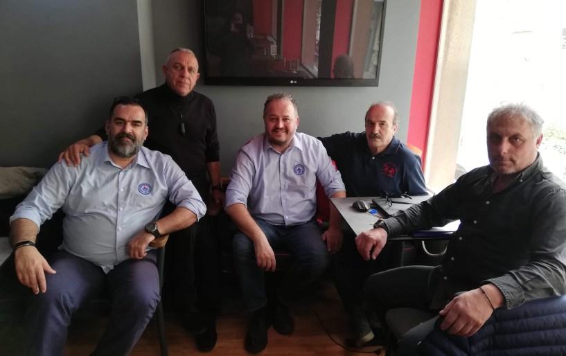 Συνάντηση για το «9ο Ευρωπαϊκό Πρωτάθλημα Ποδοσφαίρου Κωφών»