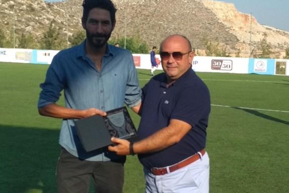 Δύο Δαμαστιανοί πρωταθλητές τιμήθηκαν από την ομάδα