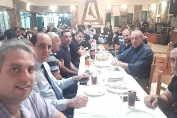 Πολιτικοί φορείς στην εκδήλωση του ΠΑΟΚ