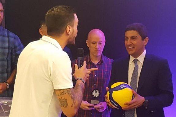 Με τα καλύτερα λόγια μίλησε για την ομάδα volley του ΟΦΗ ο Αυγενάκης