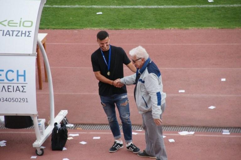 Πήρε το μετάλλιο του πρωταθλητή ο Χύσι