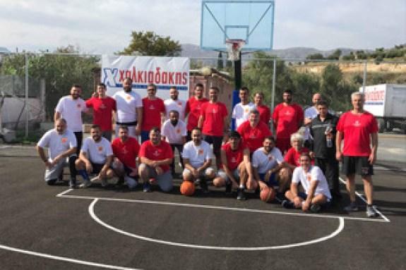 Pics | Πρώτο φιλικό για την ομάδα μπάσκετ του Χαλκιαδάκη