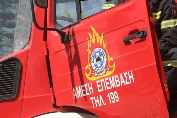 Δυο πυρκαγιές σε Τζερμιάδο και Ακρωτήρι
