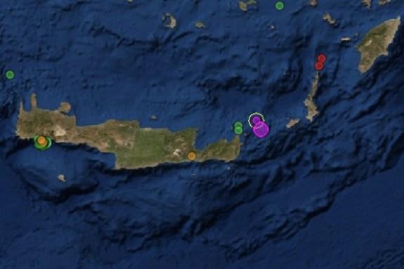 Σεισμική… έξαρση στην Κρήτη