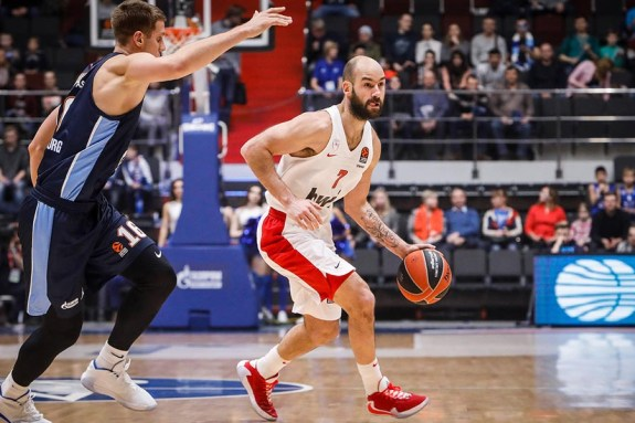 Ζενίτ – Ολυμπιακός 91-87
