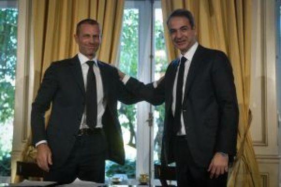 Τσέφεριν σε Μητσοτάκη: «Το ποδόσφαιρο θα λύσει τα προβλήματά του χωρίς βοήθεια»