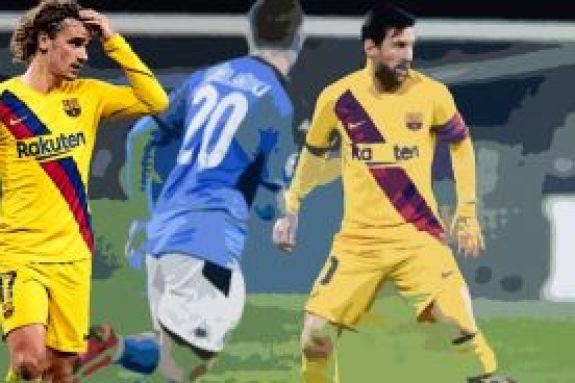 Προβάδισμα η Μπαρτσελόνα, 1-1 με τη Νάπολι (vid)