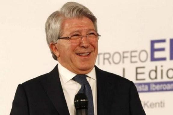 Προσβλητικός ο πρόεδρος της Ατλέτικο: «Το Άνφιλντ δε θα περνούσε τον έλεγχο της UEFA»