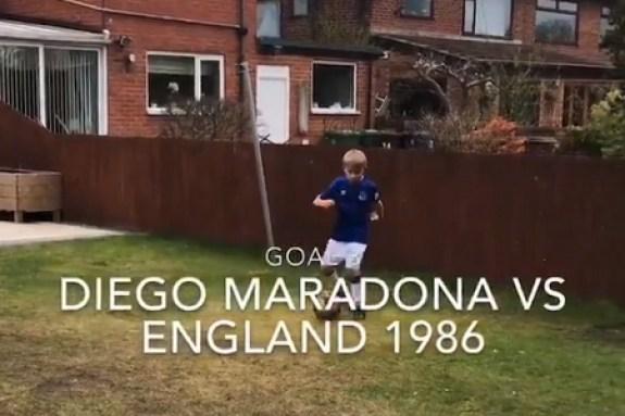 Viral: Τα σπουδαιότερα γκολ σε… παιδική έκδοση (vid)