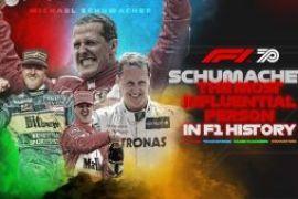 Ο Σουμάχερ ο πιλότος με τη μεγαλύτερη επιρροή στην ιστορία της F1