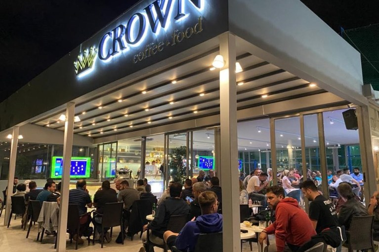 """Δείτε το ΑΕΚ – ΟΦΗ στο καφέ """"Crown"""""""