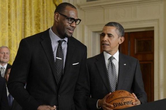 Ο Ομπάμα έσωσε το NBA από τη διακοπή