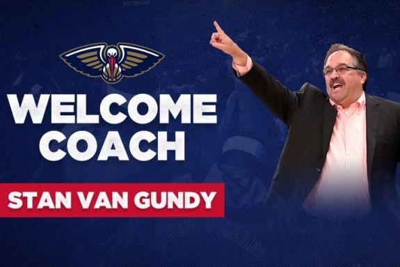 Επίσημο: Νέος προπονητής των Πέλικανς ο Βαν Γκάντι
