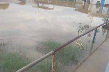 Pics   Πλημμύρησε το γήπεδο των Ελπίδων για ακόμα μια φορά!