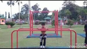 Calisthenics Brunei at Parit