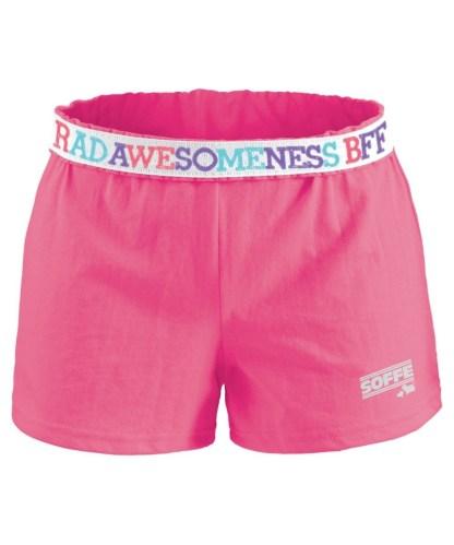 Autentisk Soffe shorts i fargen rosa