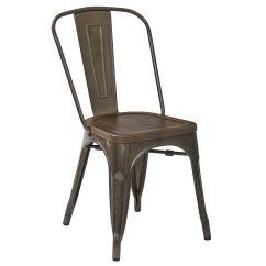 At Home Chairs Dallas Cowboys Folding Dublin Metal Dining Chair