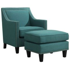 Accent Chair Teal Wheelchair Parking Erica - | At Home