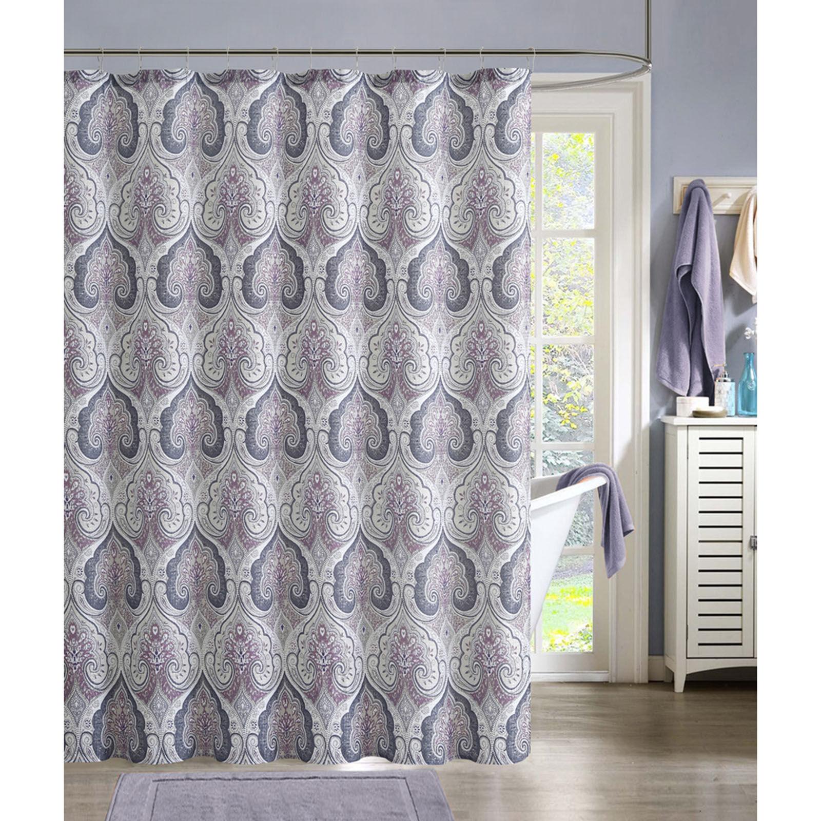 Mauve Shower Curtain