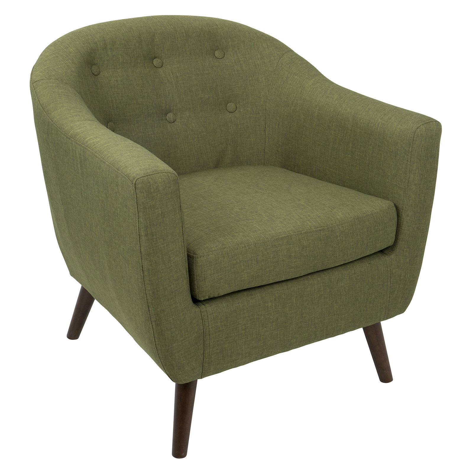 olive green accent chair faux leather chairs argos rockwell at home