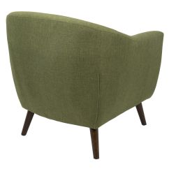 Olive Green Accent Chair Jazzy Power Cover Rockwell At Home