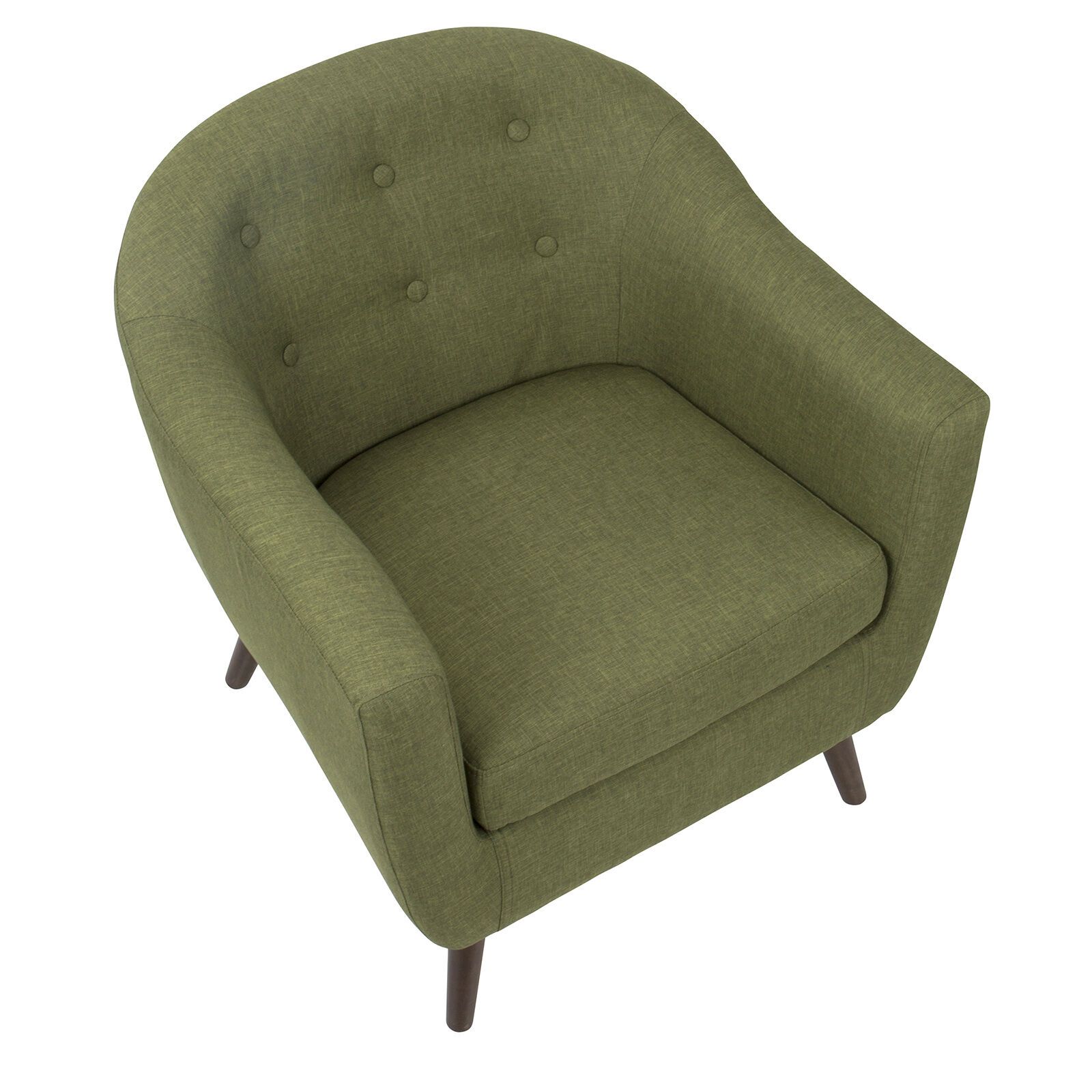 olive green accent chair a half rockwell at home