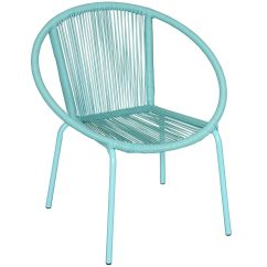 Round Wicker Chair Name Outdoor And Ottoman Sets Aqua At Home