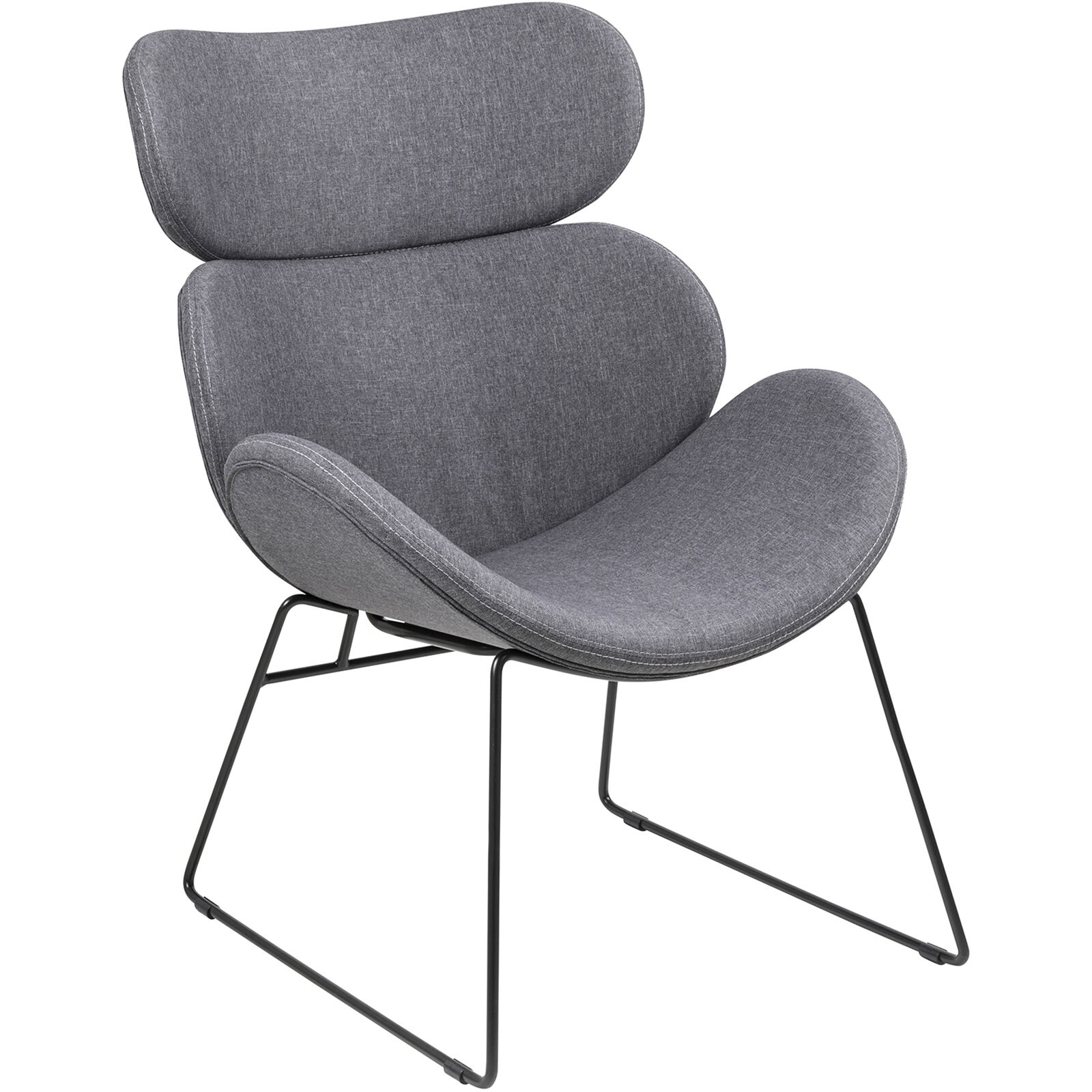 light grey chair white stackable chairs cazar resting at home zoom